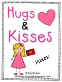 Hugs & Kisses:  An -es Ending Word Pack