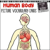 Human Body Picture Vocabulary Cards {For Multi-Age Classrooms}