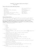 Humans and the Environment Lesson Plan Ecology Project