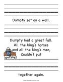 Humpty Dumpty Name Practice