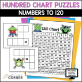 Hundred Chart Puzzles: Number to 120