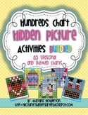 Hundreds Chart Hidden Picture Activities BUNDLE for Season
