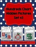 Hundreds Chart Hidden Pictures Set #3