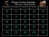 Hunger Games Final Review Powerpoint -Rounds 2 & 3