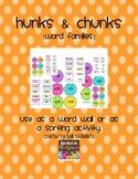 Hunks and Chunks: Word Wall or Sorting Activity