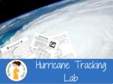 Hurricane Tracking Latitude Longitude Activity