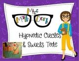 Hypnotic Circles & Swirls Teacher Tote