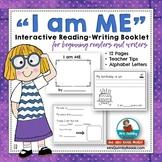 I Am ME  - Booklet- Character Education-Self-Esteem