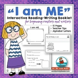 I Am ME  - Booklet- Character Education-Self-Esteem