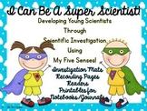 I Can Be A Scientist My Five Senses Unit