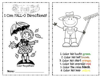 I Can Fall-O Directions