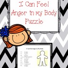 I Can Feel Anger in My Body Word Puzzle