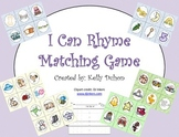 I Can Rhyme Matching Game