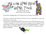 I Can Speed Read {Super Pack}