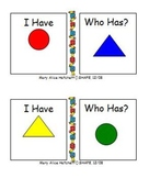 I Have, Who Has? Primary Geometric Shapes