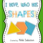 I Have Who Has - SHAPES