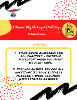 review caged bird part term week lessons teach i know why the caged bird sings study