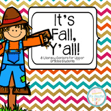 "Fall Literacy Centers for ""Big Kids"""