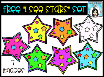 I See Stars FREE Clip Art Set