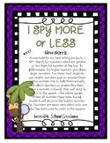 I Spy MORE or LESS - KCC.C.7
