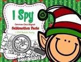 I Spy Subtraction Facts ~Christmas Edition~