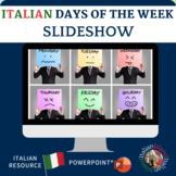 I giorni della settimana - The days of the week in Italian