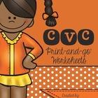 I love Phonics CVC Print and go worksheets