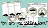 "I ""mustache"" you... A Classroom Decor Packet EDITABLE"