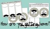 "I ""mustache"" you... A Classroom Decor Packet EDITABLE"