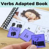 VERBS... Present Progressive Verbs Adapted Book Special Ed