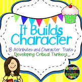 IB Learner Profile Attribute Posters & Character Traits wi