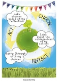 IB PYP Earth Action Cycle Poster International