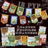 IB PYP Learner Profile Posters & Banners for A4 Paper