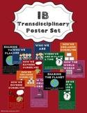 IB Transdisciplinary Themes and Indicators Poster Set