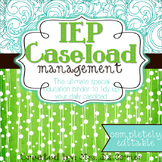 IEP Caseload Management { Teal Mosaic } - Ultimate IEP Spe