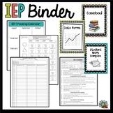 IEP Binder
