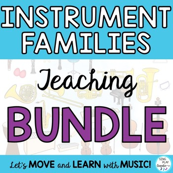 INSTRUMENT LEARNING BUNDLE OF *Mp3 Sound *ACTIVITIES *GAME