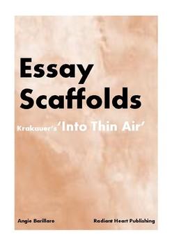 into thin air mini essay