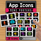 IPad FREE Mini Posters - 16 App Icons to Know
