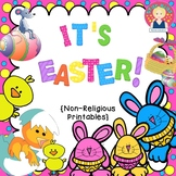 IT'S EASTER! {Common Core Aligned, Non-Religious Printables}