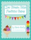 Ice Cream Finding Factors Game