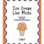 Ice Cream Line Plot