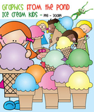 Ice Cream Stick Kids - Clipart for Teachers and Teaching