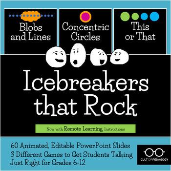 Icebreakers That Rock: 3-Game Bundle