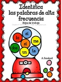 Identify High Frequency Words in Spanish
