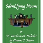 """Identifying Nouns in """"A Visit from St. Nicholas"""" by Clemen"""