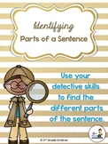 Identifying Parts of a Sentence