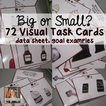 Teaching Size Concepts using Task Cards: Big and Small