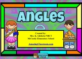 Identifying and Measuring Angles Smart Board Notebook Lesson