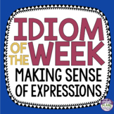 IDIOM OF THE WEEK: 40 Posters Of Commonly Used Idioms With